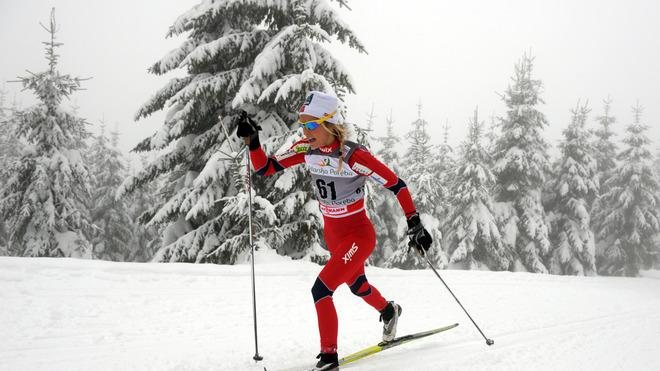 Norway's Therese Johaug Competes AFP/Getty Images