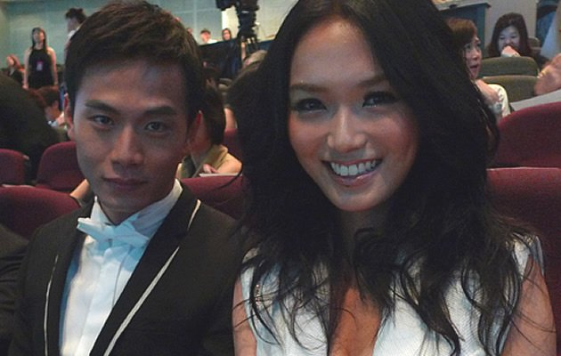 Joanne Peh and frequent co-star Qi Yuwu are officially dating (Photo from Joannepeh.com)