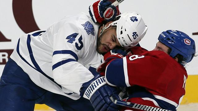 Ice Hockey - Bad blood flows as Montreal down Toronto