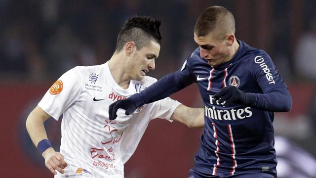Serie A - Step down not easy for Verratti
