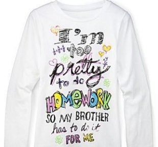 This T-shirt, marketed to girls, was pulled from J.C. Penney's website after customers complained.