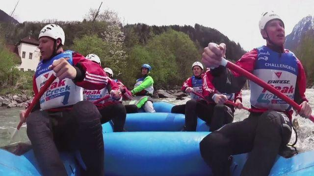 The world's most extreme sports medley?
