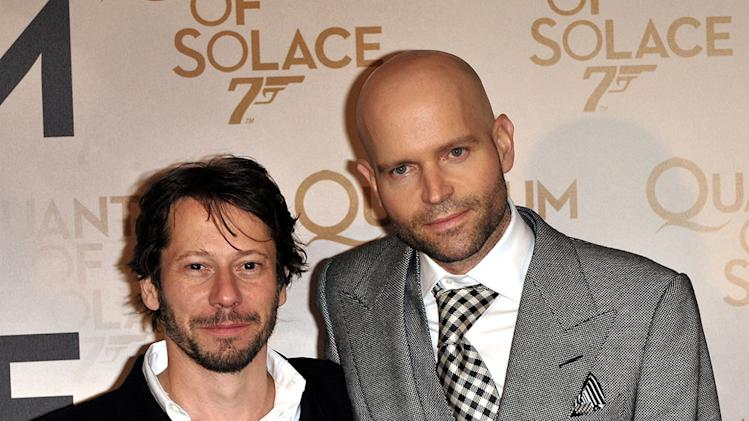 Quantum Of Solace Paris Premiere 2008 Mathieu Amalric Mac Forster