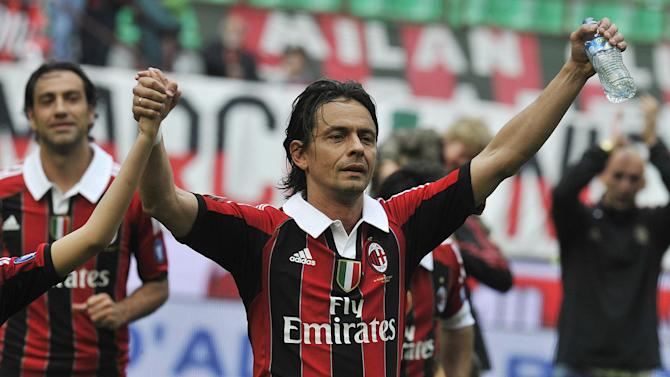 Serie A - FACTBOX-New AC Milan coach Filippo Inzaghi