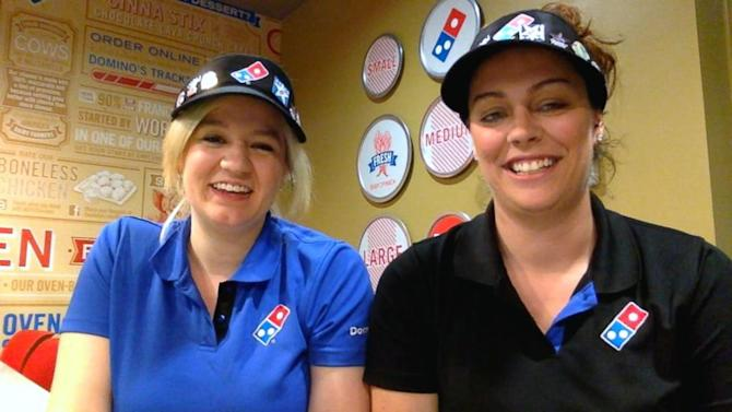Domino's Workers Surprised With Trip to Las Vegas ...