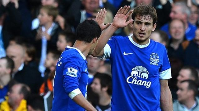 Jelavic on target as Everton dismiss Southampton