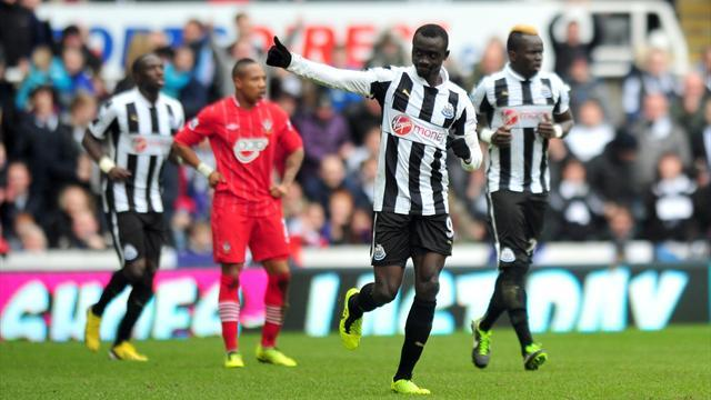 Premier League - Cisse wonder goal helps Newcastle quell Saints