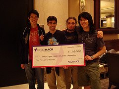 Winners of Open Hack All Stars 2011