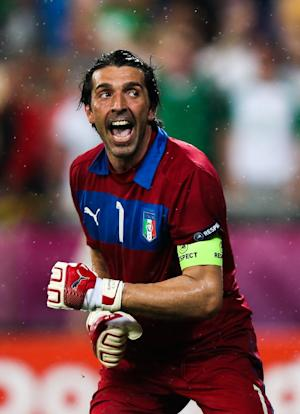 Gianluigi Buffon laughed at the concept of watching videos of England's previous penalty shoot-outs