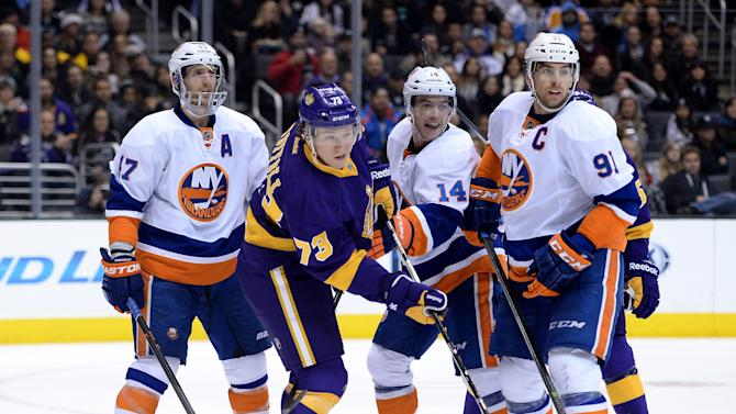 New York Islanders v Los Angeles Kings