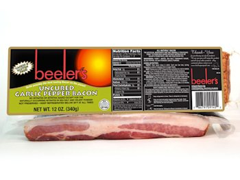 Beeler's Uncured Garlic & Pepper Bacon