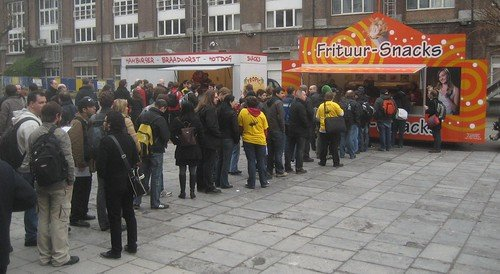 Line for frites