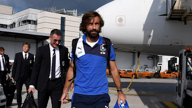 Pirlo to miss Italy's game in Azerbaijan