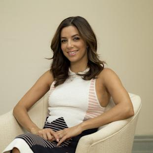 Eva Longoria poses for a portrait photograph at the 68th international film festival, Cannes, southern France, Thursday, May 21, 2015. (Photo by Joel Ryan/Invision/AP)
