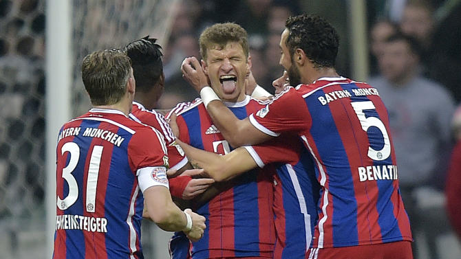 Bayern Munich and Thomas Mueller lead AP Global Football 10