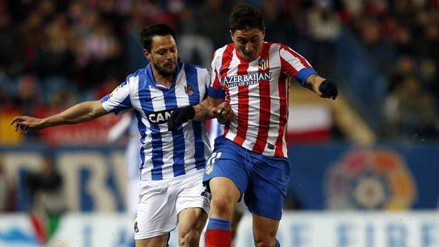 Liga - Prieto strikes as Sociedad stun Atletico