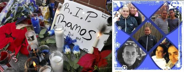 Son of slain NYPD officer mourns dad on Facebook