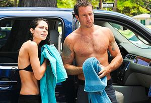 Michelle Borth and Alex O'Loughlin | Photo Credits: Norman Shapiro/CBS