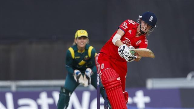 Cricket - Greenway guides England to women's Ashes
