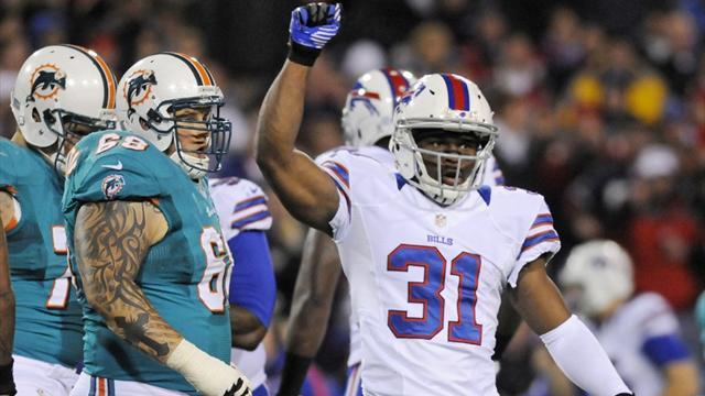NFL  - Bills hold on for win over Miami