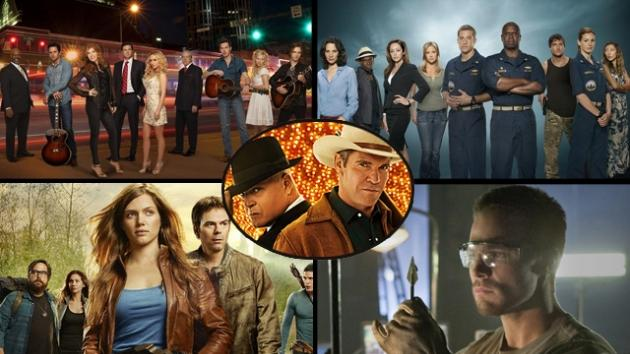 'Nashville,' 'Last Resort,' 'Revolution,' 'Arrow' and 'Vegas' -- Composed by AccessHollywood.com