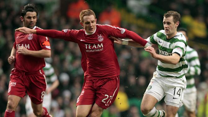 Rob Milsom, left, is close to returning for Aberdeen