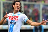 Napoli remain adamant Manchester City and Arsenal target Cavani is not for sale