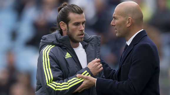 Zinedine Zidane: Gareth Bale Can Beat England on His Own When They Meet
