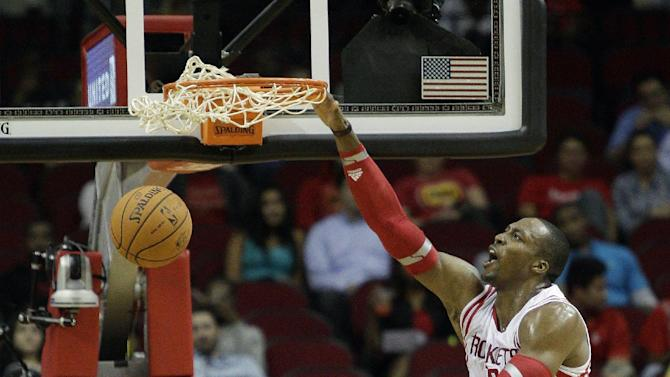 Dwight Howard happy to be in Houston