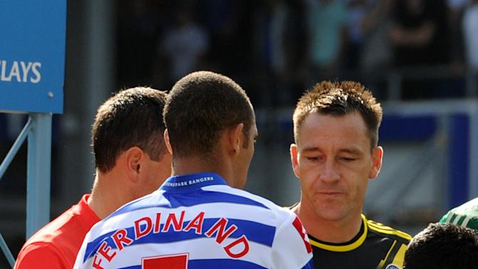 John Terry, right, will appear for the third day of the hearing on Wednesday