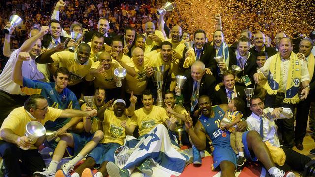 Basketball - Maccabi stun Real to win fifth Euroleague title