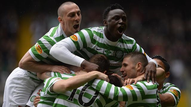 Scottish Premier League - Celtic destroy St Johnstone on title party day