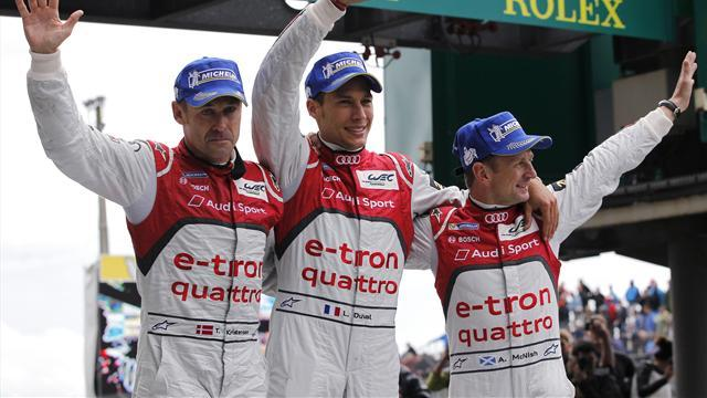 WEC - Kristensen, Duval and McNish win it for Audi