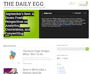 How to Give Web Users What They Want image the daily egg 2b86d96b