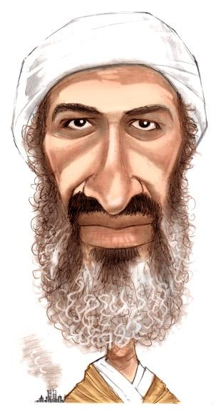 CARICATURE: Osama Bin Laden