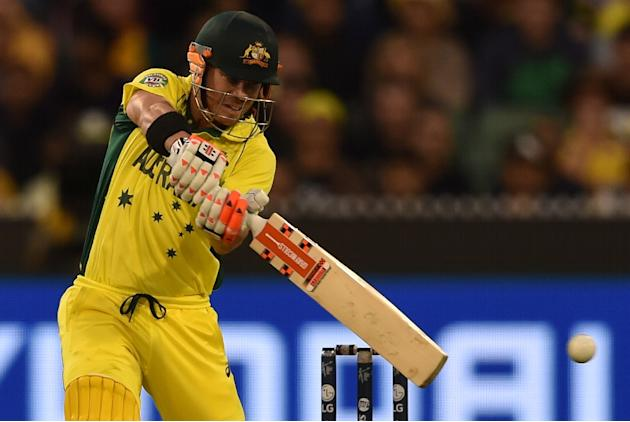 David Warner hit a breezy 45 off 46 balls to power Australia into a good position against New Zealand