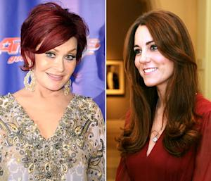 """Sharon Osbourne Calls Lady Gaga a """"Bully"""" and a """"Hypocrite,"""" Kate Middleton Reveals First Official Portrait: Today's Top Stories"""