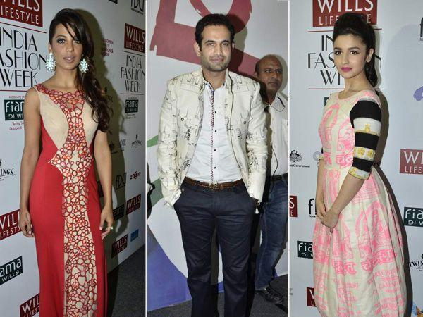 Celeb Spotting: Wills Lifestyle India Fashion Week 2013