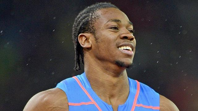 Athletics - Blake ruled out of world 100m title defence