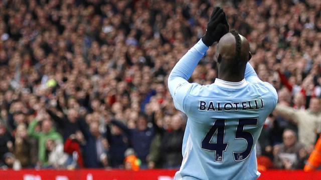 Premier League - Mancini frustrated by Balotelli exit talk