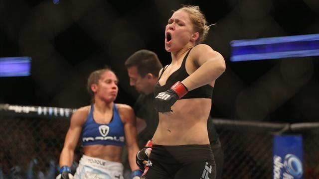 Mixed Martial Arts - Rousey to join Stallone and friends in Expendables 3