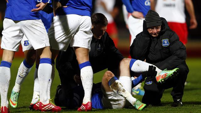 FA Cup - Oviedo injury mars Everton win at Stevenage