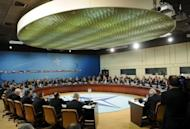 The NATO Defence Ministers and Foreign Affairs meeting at the NATO Headquarters in Brussels. NATO allies sought Wednesday to ensure a smooth withdrawal from Afghanistan and reassure Kabul that the West would financially back Afghan forces once foreign combat troops are gone in 2014