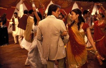 Martin Henderson and Aishwarya Rai in Miramax's Bride and Prejudice: The Bollywood Musical