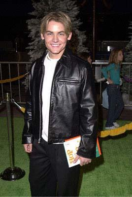 Premiere: Kevin Zegers at the Universal Amphitheatre premiere of Universal's Dr. Seuss' How The Grinch Stole Christmas - 11/8/2000