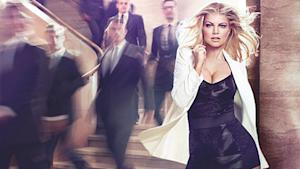 Fergie Bares Cleavage to Promote Perfume