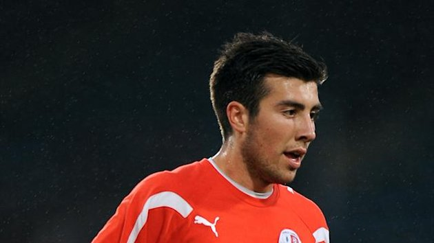 Michael Doughty has made one first-team appearance for QPR off the bench