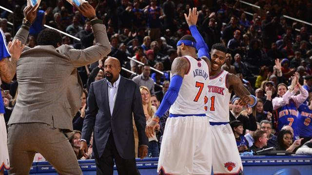 Basketball - Anthony set Knicks record with 62 points