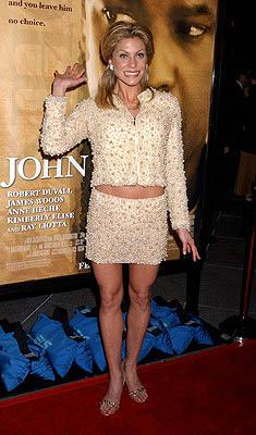 Heather Wahlquist at the LA premiere for New Line's John Q