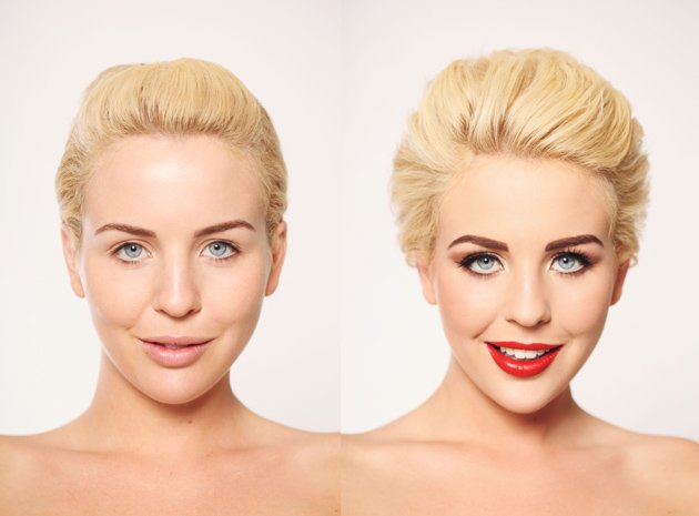 TOWIE's Lydia Bright without makeup